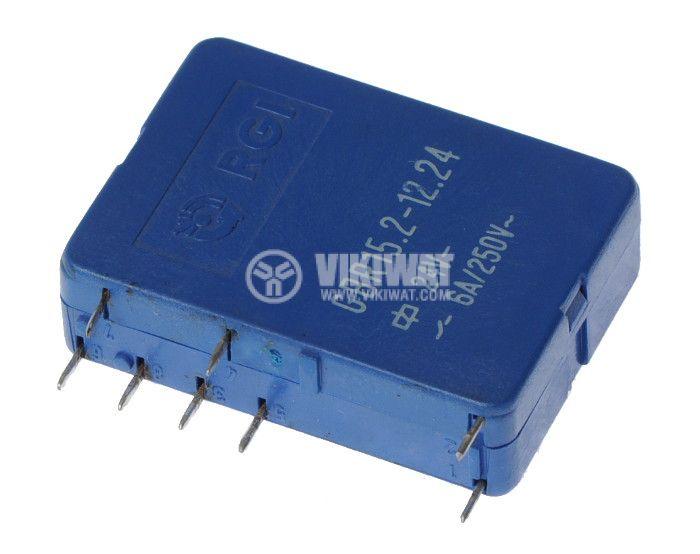 Реле електромагнитно GBR15.2-12.24 с бобина 24V