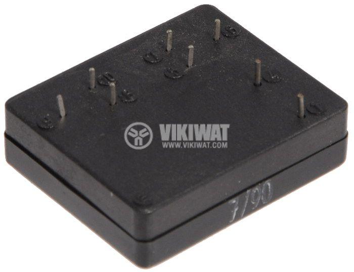 Реле електромагнитно GBR20.1.24 бобина 24VDC 250V 6A DPDT 2NO+2NC - 3