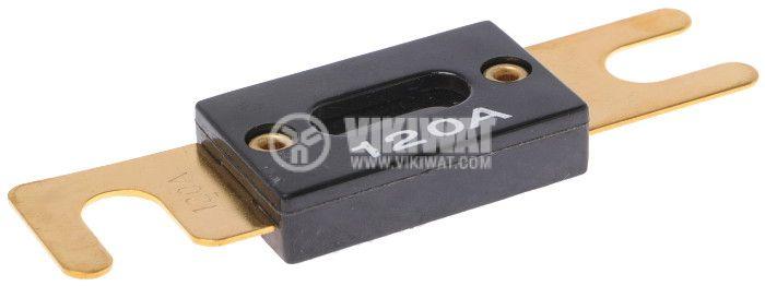 Flat Automotive Fuse, 80VDC, 120A
