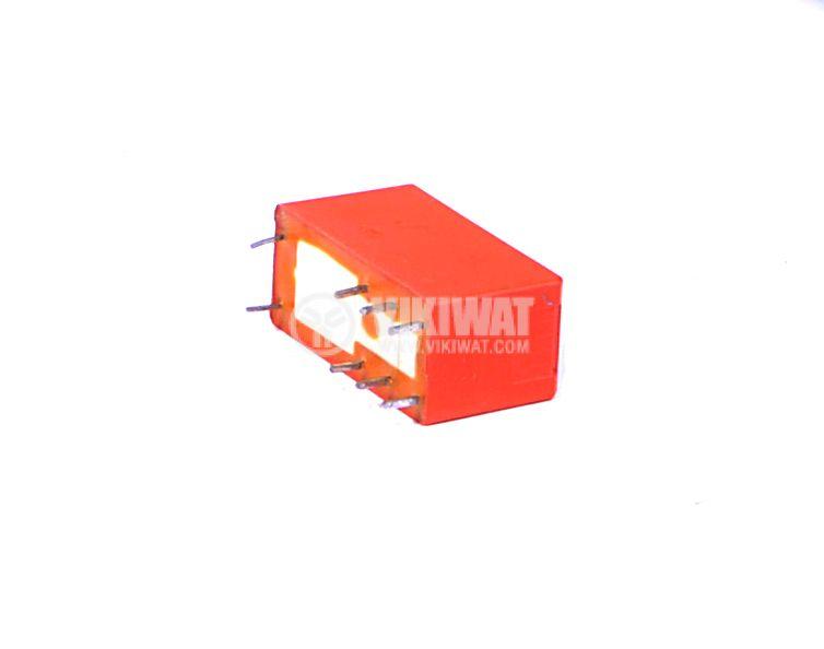 Електромагнитно универсално реле RT314006 6V 250VAC/16A DPDT - NO+NC - 3