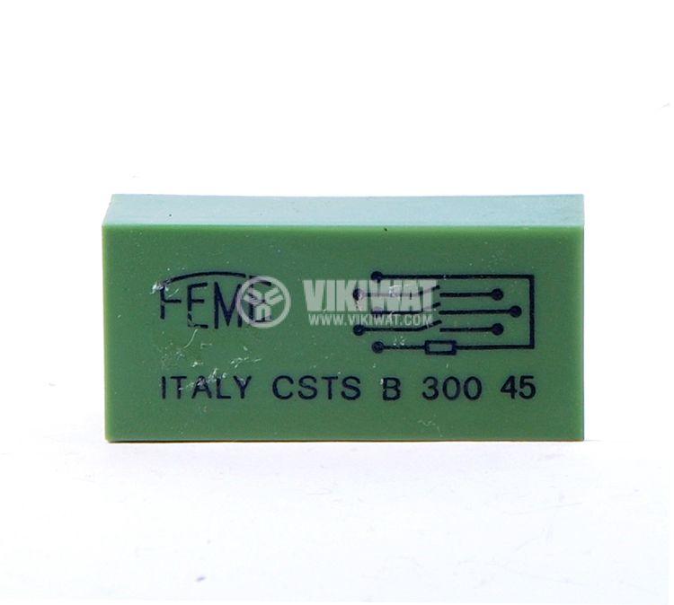 Реле електромагнитно, CSTS B300 45, 6VDC 250VAC/0.5A 3PST-3NO - 1