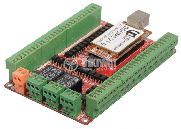 Digital Dream CNC DDUM3 V1.0 USB Card 3 Axis USB Controller Board - 2