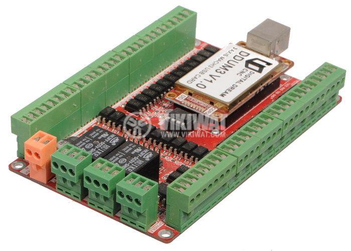 Digital Dream CNC DDUM3 V1.0 USB Card 3 Axis USB Controller Board  - 2