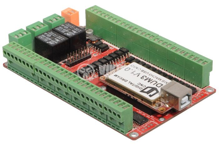 Digital Dream CNC DDUM3 V1.0 USB Card 3 Axis USB Controller Board  - 3