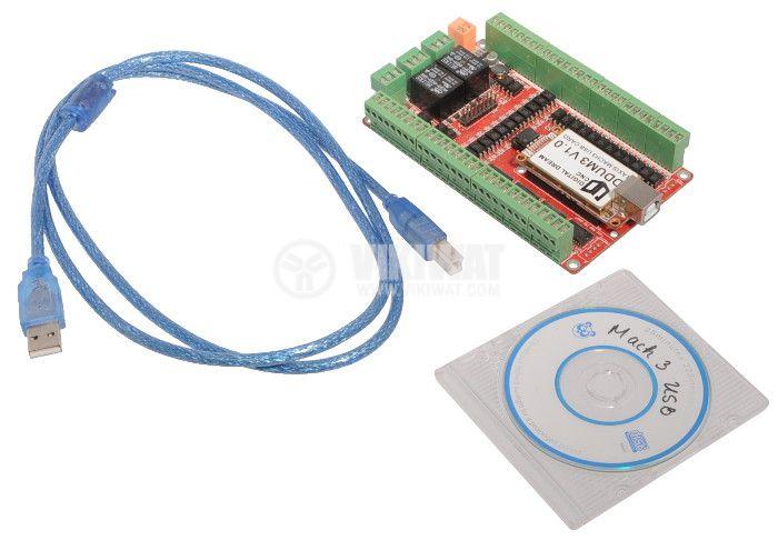Digital Dream CNC DDUM3 V1.0 USB Card 3 Axis USB Controller Board  - 4