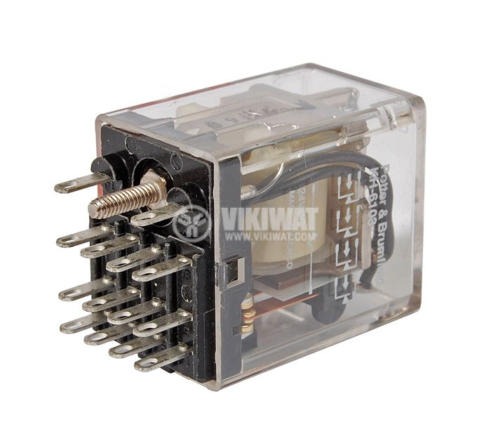 Eлектромагнитно реле KH-6103 с бобина 24V - 1