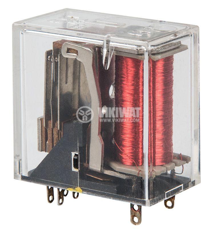 Реле електромагнитно TGL 200.3796 30.12.024, бобина 24VDC, 250VAC/3A, DPDT - 2NO+2NC - 2