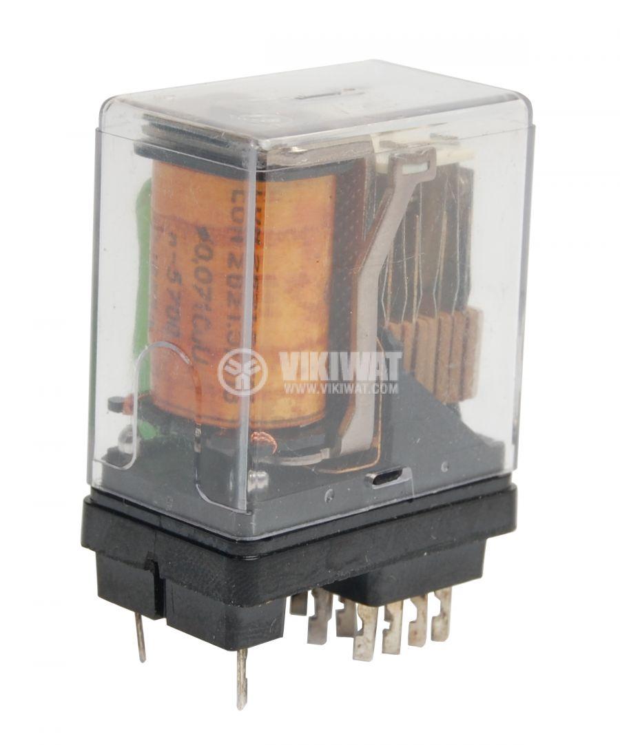 Реле, V23154, 24VDC 4NO+4NC 220VAC/3A 29x18x29 14pin - 1