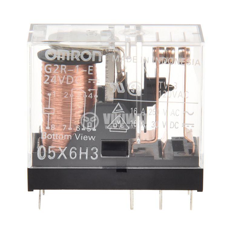 Electromagnetic relay 16A/250V SPDT NO+NC - 2