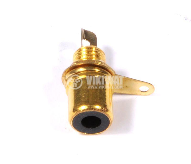Конектор, RCA, CC116/117 GOLD, F - 4