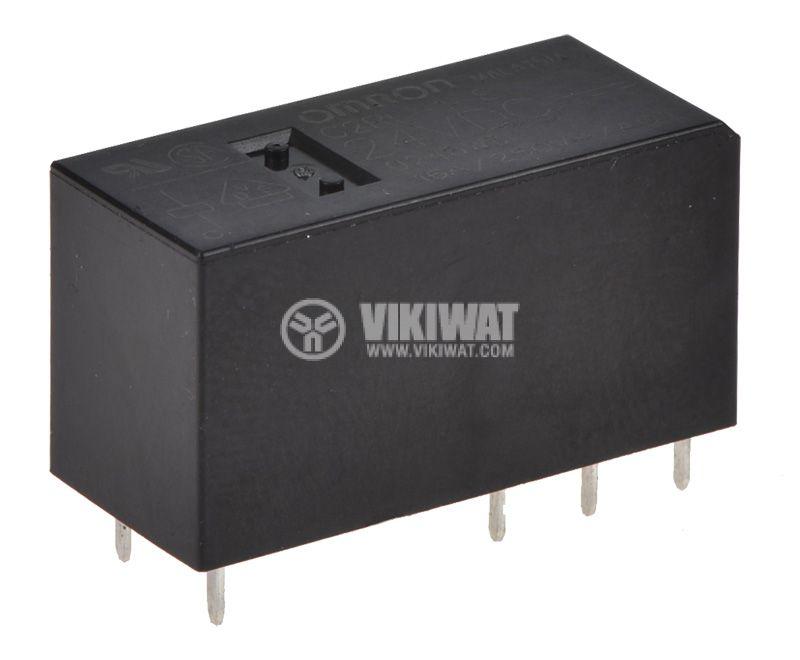 Реле електромагнитно G2RL-1-E, бобина 24VDC, 250VAC/16A, SPDT - 1
