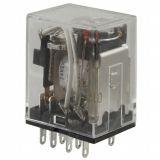Electromechanical relay MY4N, coil 240VAC, 250VAC/5A, 4PDT - 4NO + 4NC