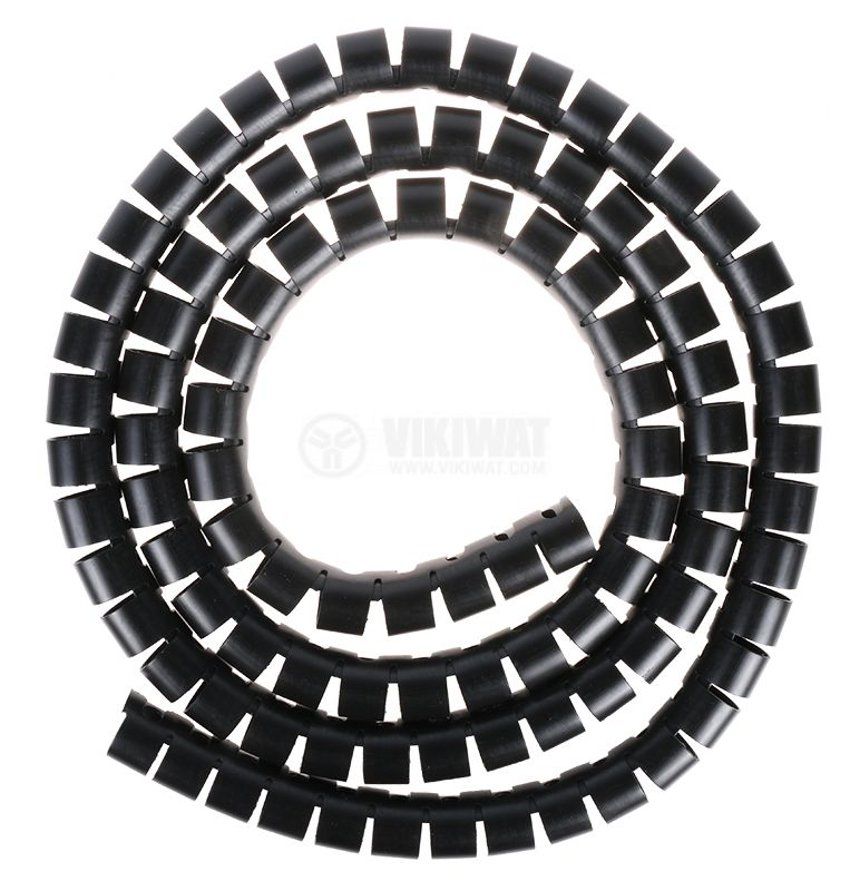 Cable shield Helawrap, 2m, 23-27mm, black, HWPP25L2 - 2