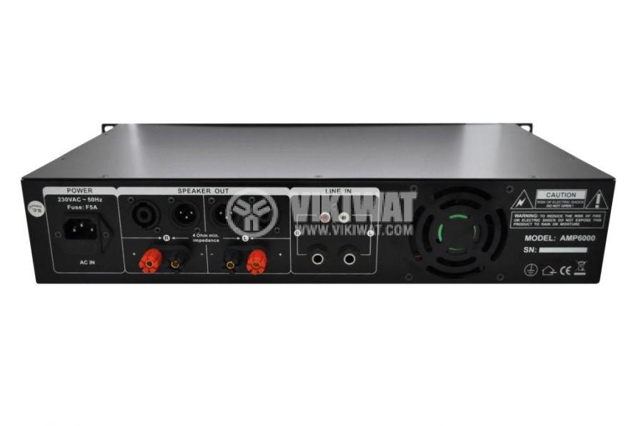 Professional amplifier PA-AMP6000-KN 2x170W, 2x100W - 2