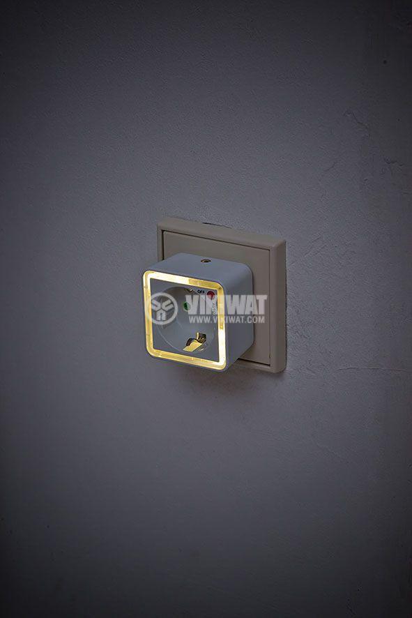 LED contact NL02ED with light sensor and key - 2