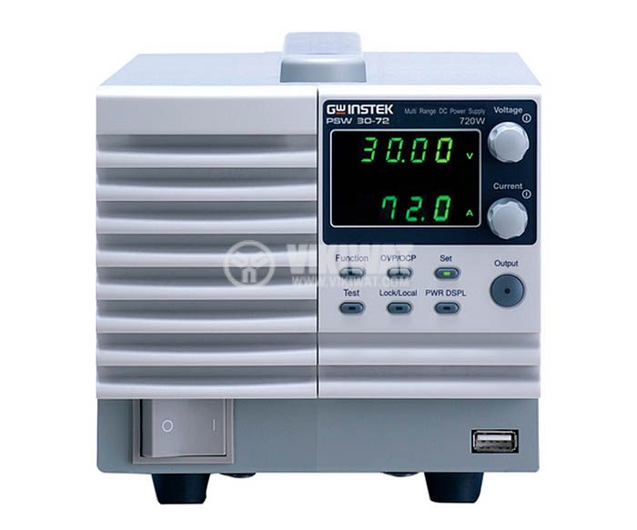 Programmable Switching DC Power Supply PSW 30-72, 72 A, 30 V, 1 channel, 720 W