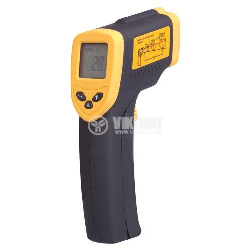 Infrared thermometer DT-8380 4-digit display - 1