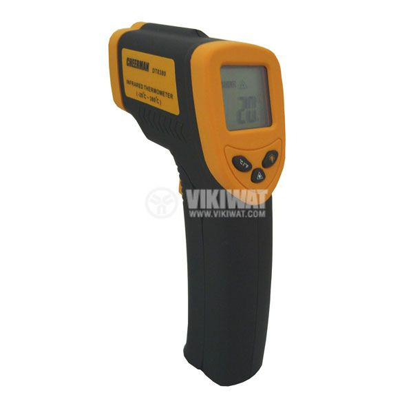 Infrared thermometer DT-8380 LCD display - 3