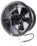 Axial Duct Fan, VL-2E-350, Ф350mm, 220VAC, 350W, 4750 m3/h