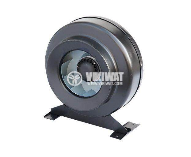 Centrifugal Pipe Fan VR-2E-315, 380VAC, 210W, 1200m3/h, ф315mm - 2