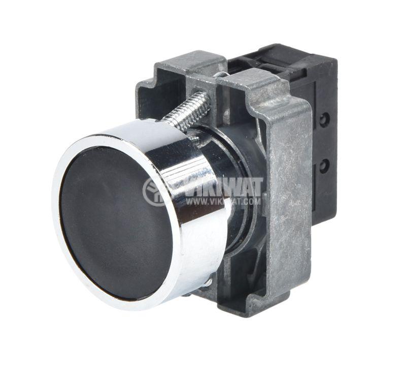 Панелен превключвател, бутон, ф22mm, 10A/240VAC, 2 позиции, SPST - 3