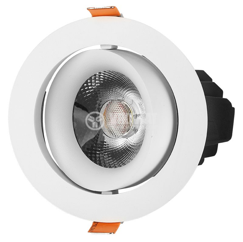 LED COB downlight SHOPLINE-R, 30W, 220VAC, 2700lm, 4200K, neutral white, BD36-00310, recessed - 1