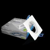 Spotlight fixture MITTO-S BH03-02040, white, GU5.3/GU10