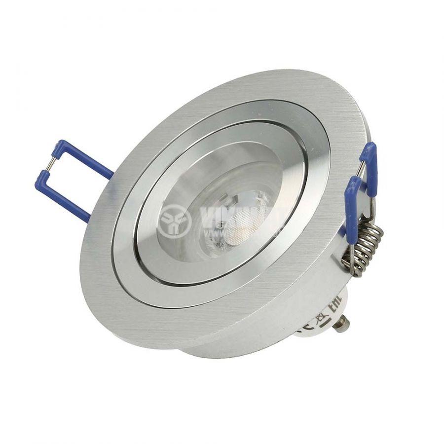 Spotlight fixture SPOTTI-S BH03-00163, silver, GU5.3/GU10 - 4