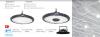 Промишлено LED тяло HIBAY, 100W, 220-240VAC, 10000lm, 6000K, студенобяло, IP65, влагозащитено, BT45-19132 - 4