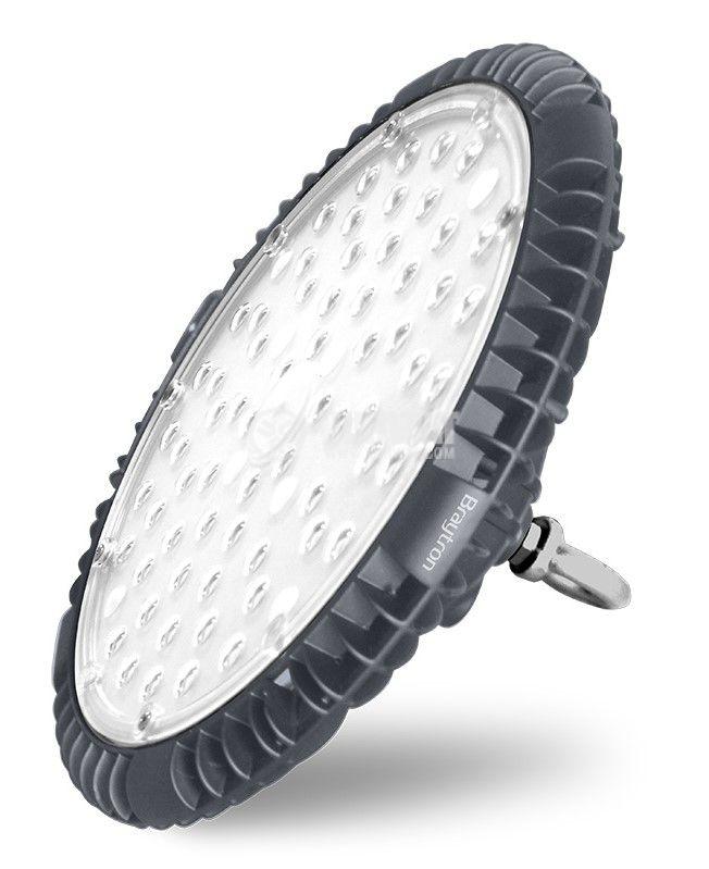 Промишлено LED тяло HIBAY, 100W, 220-240VAC, 10000lm, 6000K, IP65, влагозащитено, BT45-19132 - 3