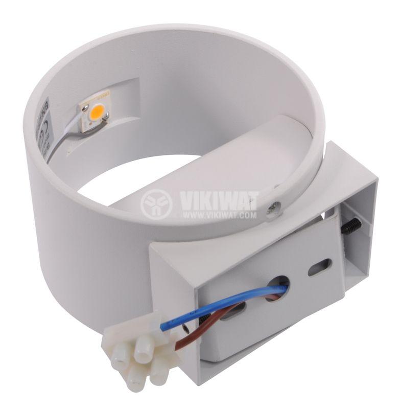 LED lightning fixture BH07-03000, 8W, 220VAC, 3000K, warm white - 5