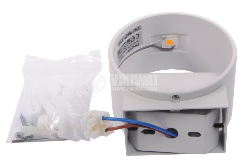 LED lightning fixture BH07-03000, 8W, 220VAC, 3000K, warm white - 6