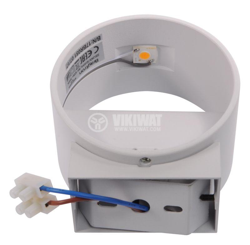 LED lightning fixture BH07-03000, 8W, 220VAC, 3000K, warm white - 7