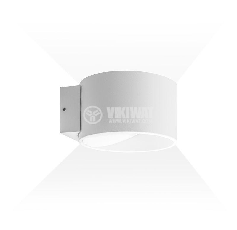 LED wall light BH07-03000, 8W, 220VAC, 3000K, warm white - 1