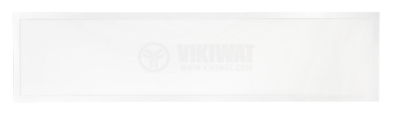 Recessed LED Panel 40W, 220VAC, 3400lm, 4200K, neutral white, 1195x295mm, Slim, BP16-33110 - 5