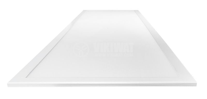 Recessed LED Panel 40W, 220VAC, 3400lm, 4200K, neutral white, 1195x295mm, Slim, BP16-33110 - 6