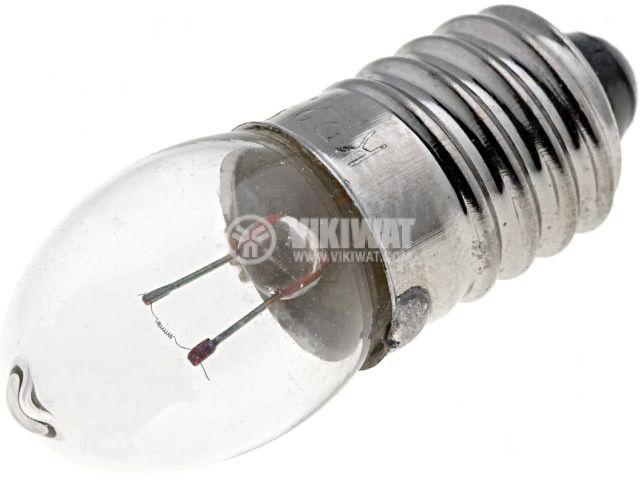 Миниатюрна лампа за фенер, 3.6 V, 0.75 A, E10