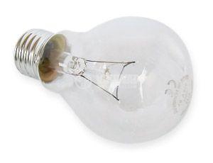 Обикновена лампа 220 VAC, 100 W, E27 - 2