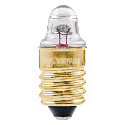 Лампа за фенер E10 2,2V 0,25A  на резба