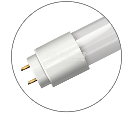 LED tube, 1200mm, 18W, 220VAC, 1750lm, 6400K, cool white, G13, T8, double-end, BA52-01283 - 5