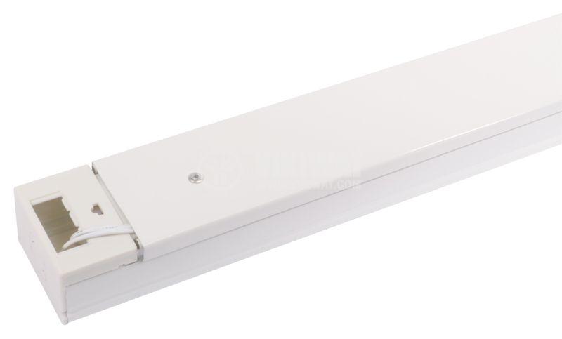 LED lamp socket, 2х600mm, white, 220VAC - 1