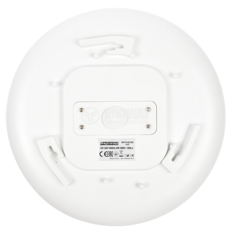 LED Ceiling light JADE 20W, 220VAC, 1280lm, 3000K, IP44, BH15-02100 - 8