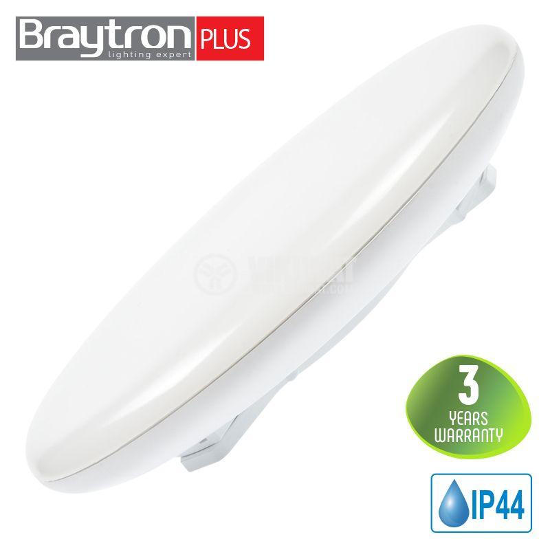 LED ceiling lamp JADE 20W, 220VAC, 1280lm, 3000K, warm white, IP44, waterproof, BH15-02100 - 1