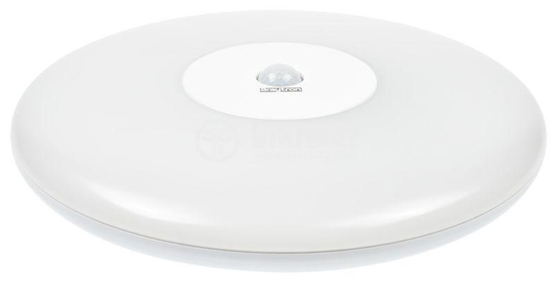 Platen JADE with sensor, 18W, 220VAC, 1440lm, 3000K, IP44, BH15-01100 - 2