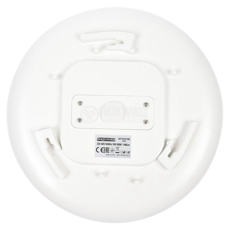 Platen JADE with sensor, 18W, 220VAC, 1440lm, 3000K, IP44, BH15-01100 - 9