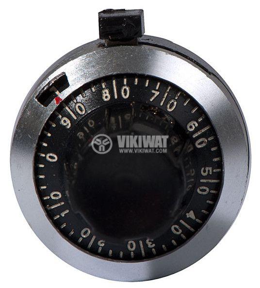 Precise knob, ZY-22-18-A, Ф6.35mm - 2