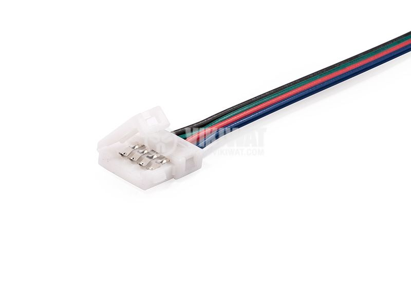 Connector with cable for LED RGB strip - 1