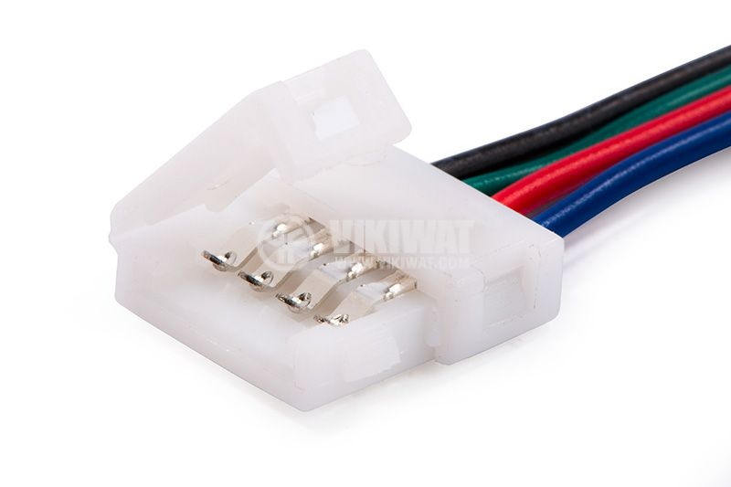Connector with cable for LED RGB strip - 2