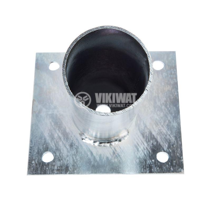 Holder for street lighting, steel, ф45mm - 3