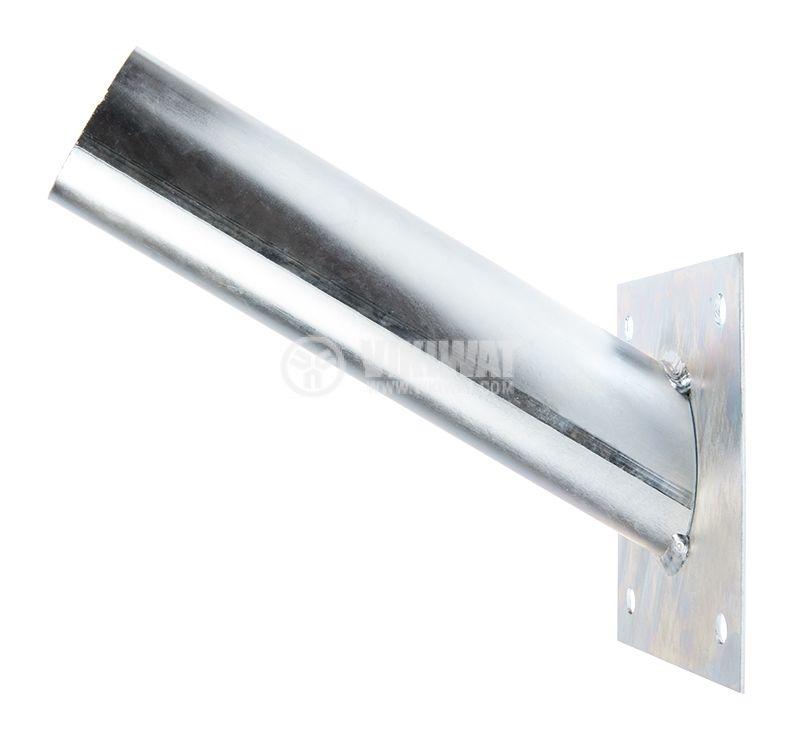 Holder for street lighting, steel, ф45mm - 1